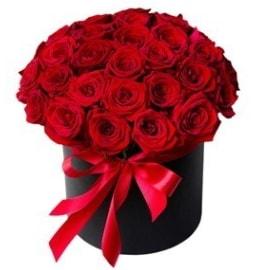 25 adet kırmızı gül kız isteme çiçeği  Balgat Ankara çiçek siparişi sitesi