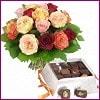 Balgat Ankaradaki çiçekçiler  Renkli Güller ve çikolata
